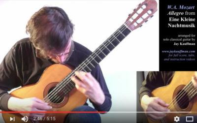 Allegro from Eine Kleine Nachtmusik (Revised 2015 Version)