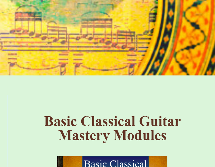 Basic Classical Guitar Mastery