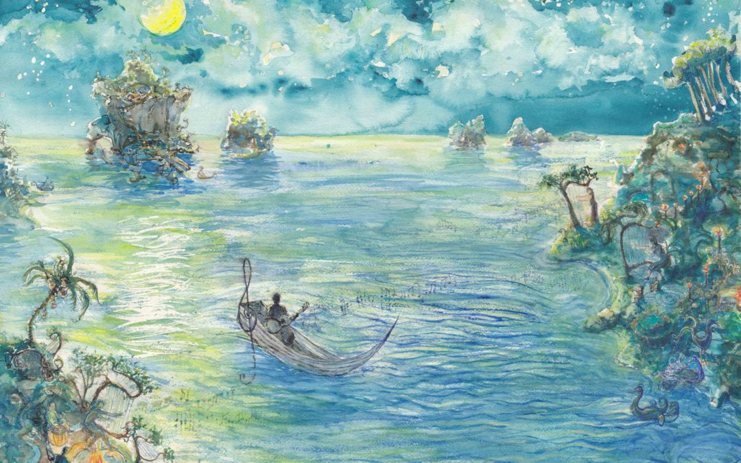 April 22 Composers Concordance Concert will also feature Jay Kauffman Paintings and Prints, Sigur Ros…and Foot Tambourine