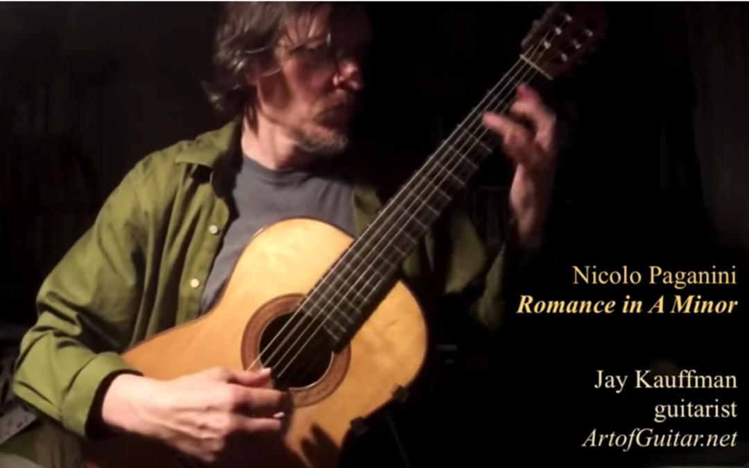 Paganini Romanze in A Minor